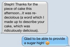 cake description